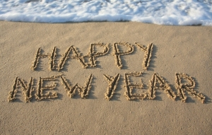 happy-new-year-beach-sand-sea